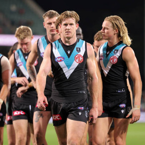 Where does Port Adelaide currently sit in the premiership conversation?