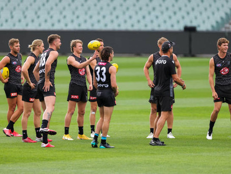 Hinkley to shuffle the deck against the Blues
