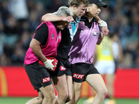 """Injuries mount as Port Adelaide's """"squad mentality"""" set to be put to the test."""