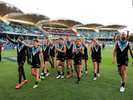 How can you not be impressed by Port Adelaide?