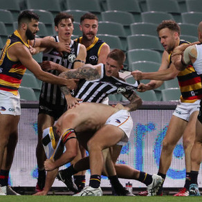 Bragging rights on the line when Port Adelaide and the Crows meet in Showdown 49