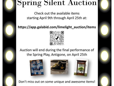 Spring Online Auction is OPEN!