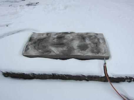 Geothermal sex mattress