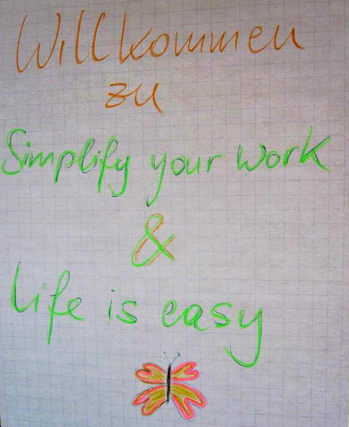 Simplify you work