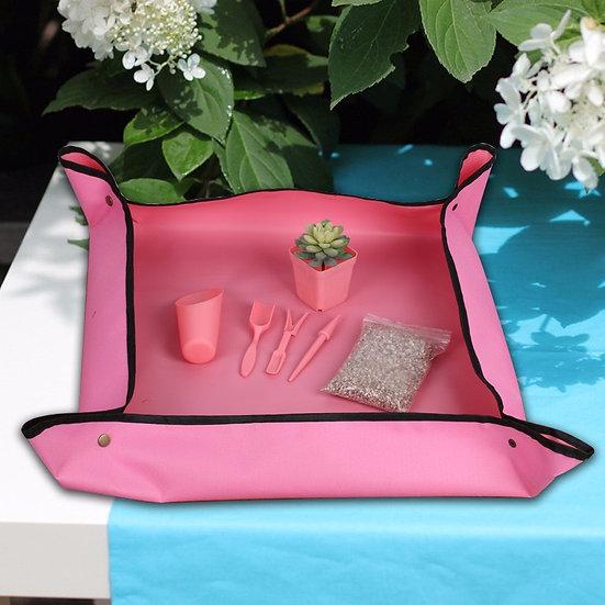 Foldable waterproof potting cloth