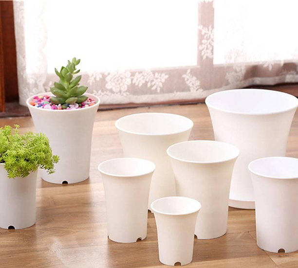 Wanxiang pot white round