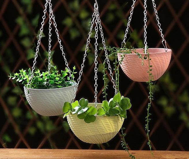 Self-watering Resin Hanging Planter