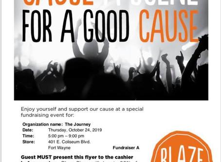 Blaze Pizza Fundraiser Night!
