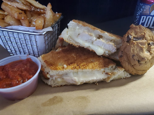 SPECIAL OF THE WEEK -CHICKEN PARMESAN PANINI