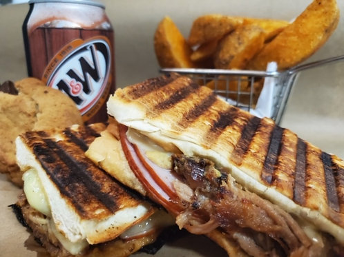 SPECIAL OF THE WEEK - CUBAN PRESSED SANDWICH