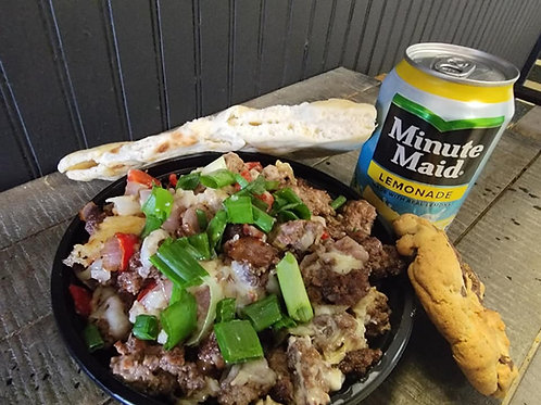 #2  SPECIAL OF THE WEEK - CHEESEBURGER RICE BOWL