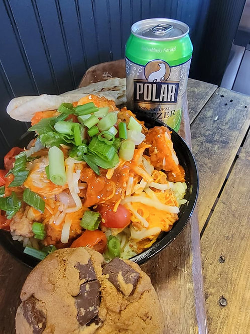 SPECIAL OF THE WEEK- BUFFALO CHICKEN RICE BOWL