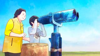 ばーちゃんと孫(オリジナル)
