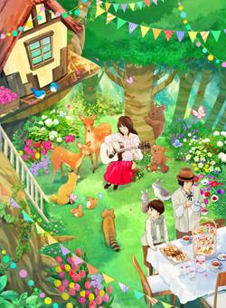 【オリジナル】森のティーパーティー
