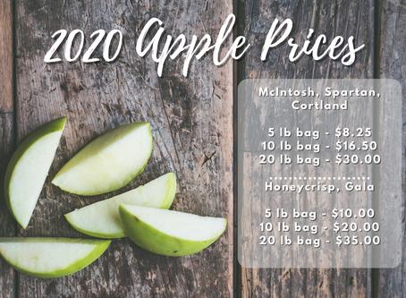 2020 Apple Prices