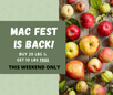 Mac Fest is Back!