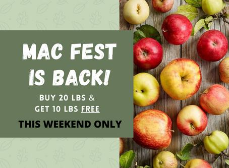 Mac Fest is Back!