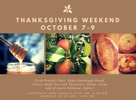 Thanksgiving Weekend Is Here!