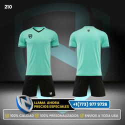 210 Uniformes de Soccer 11