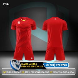 204 Uniformes de Soccer 4