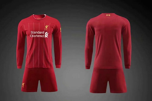 Liverpool Kit de Casa (Manga larga)