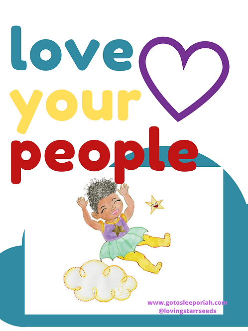 GTSO Love Your People Poster (11x17)