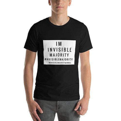 Invisible Majority Short-Sleeve Unisex T-Shirt