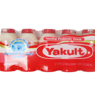 Yakult Non Fate Ptobiotic Drink (5 bottle)