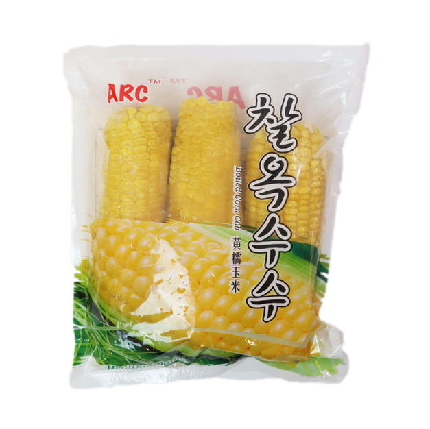 Frozen Korean Corn Cob (720g) 黃糯玉米
