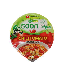 NONG SHIM CUP NOODLE  SOON CHILI TOMATO