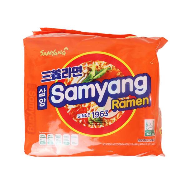 Samyang Ramen 5PK (600g) 三养拉面5连包