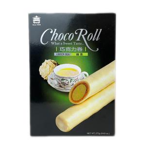 IMEI Choco Roll-Green Tea Flavor (273g) 义美巧克力卷