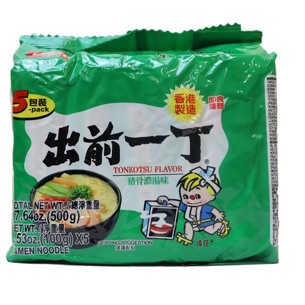 Nissin Demae Ramen-Tokotsu Flavor 5PK (500g)