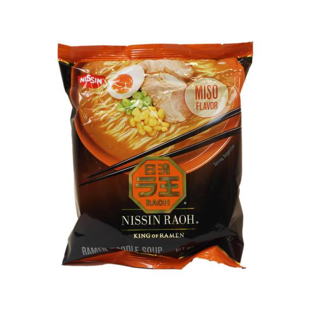 Nissin Raoh Miso Flavor (107g) 日清味增拉麵