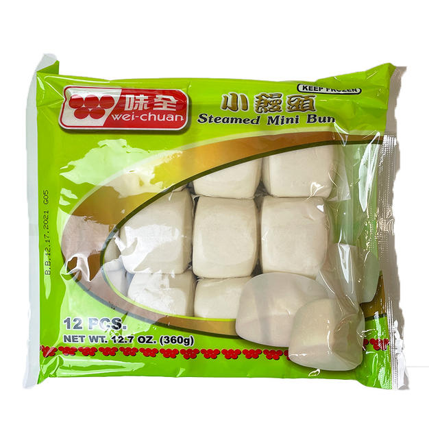 Wei Chuan Steamed Mini Bun (360g) 味全小馒头.