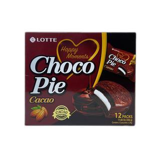 Lotte Dream Choco Pie-Cacao (12 packs-33