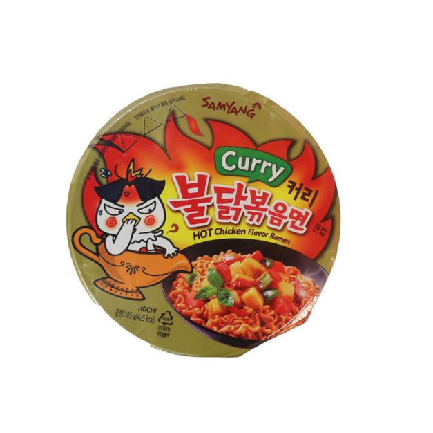 Samyang Hot Chiken Flavor Ramen-Curry