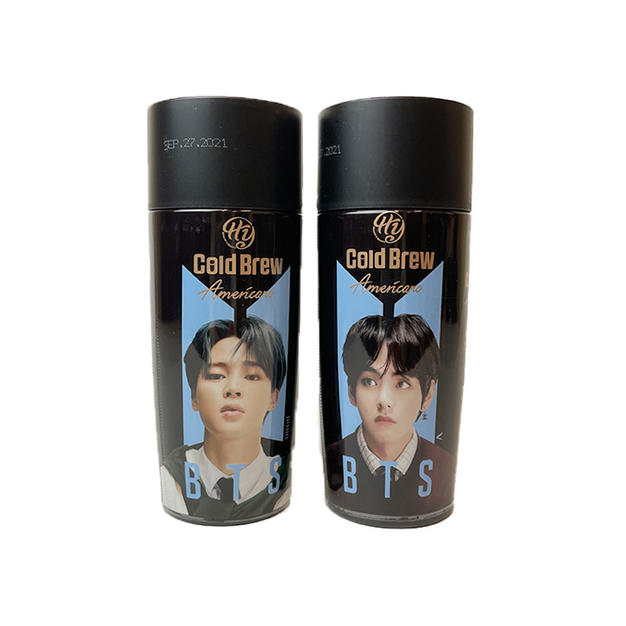 BTS Coffee - Americano (270ml) 防弹少年团美式咖啡
