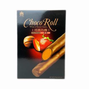 IMEI Choco Roll-Strawberry (273g) 义美巧克力卷