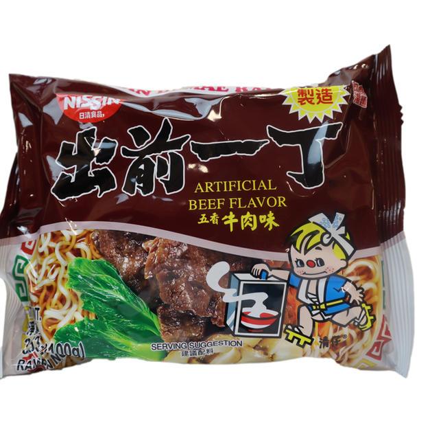 Nissin Artificial Beef Flavor (100g) 出前一丁