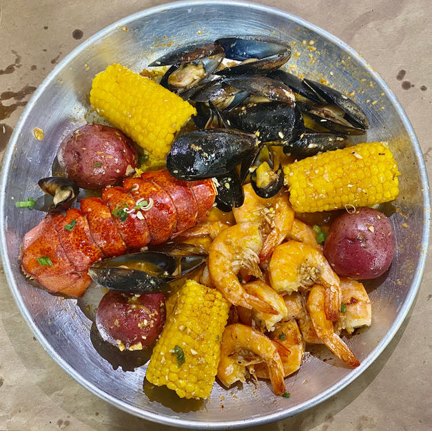 Seafood Bowl 6