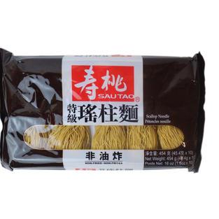 Sautao Scallop Noodle (16oz) 寿桃特级瑶柱面
