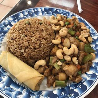 Cashew Chicken Lunch Special