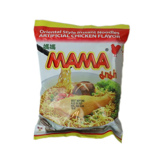 Mama Instant Noodle Artificial Chicken Flavor