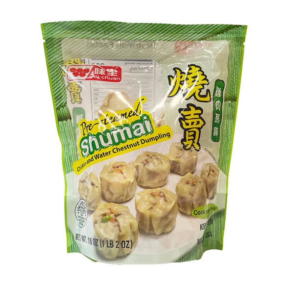 WC Pre-Steamed Shumai-Chicken_Water Chesut