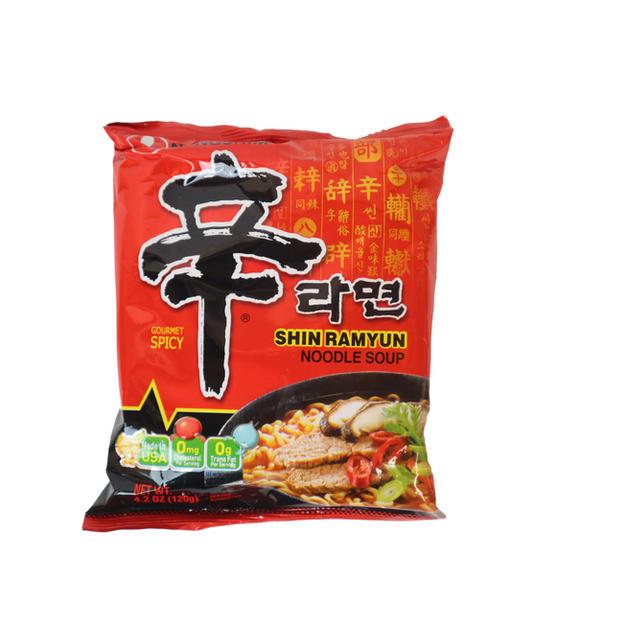 Nongshim Shin Ramyun Noodle Soup (120g)