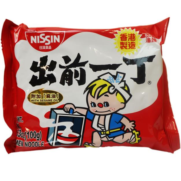 Nissin Sesame Oil Ramen (100g) 出前一丁麻油面