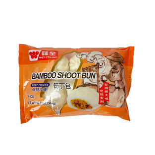Wei Chuan Bamboo Shoot Bun (360g) 味全笋丁包
