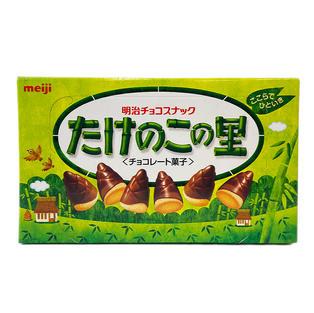 MEIJI CHOCO WHEAT CRACKER 明治蘑菇山巧克力饼干