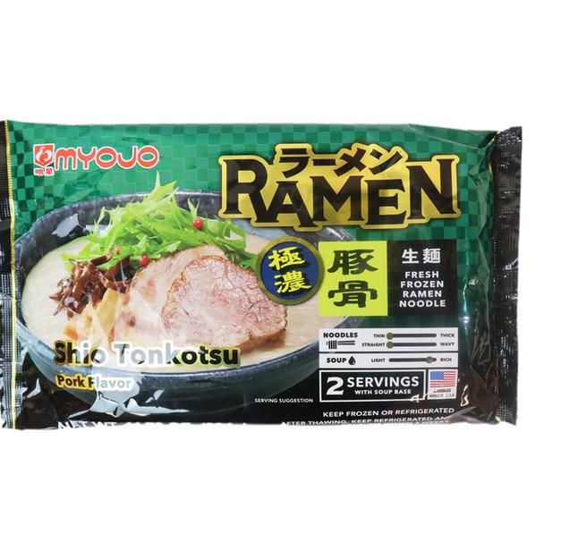 MYOJO RAMEN SHIO TONKOTSU (334g) 明星豚骨生面